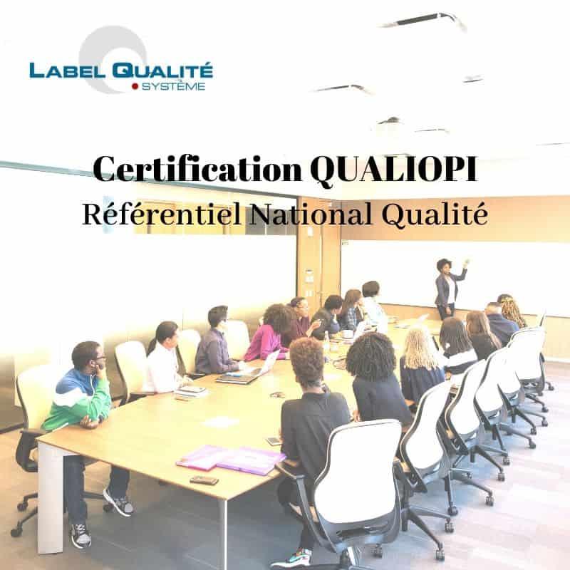 (Français) Certification QUALIOPI